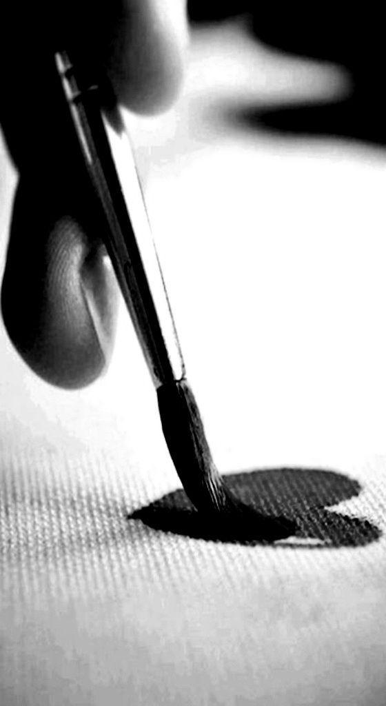 application photo noir et blanc et couleur