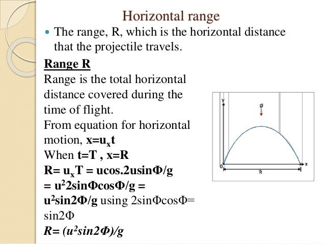 application of projectile motion in engineering