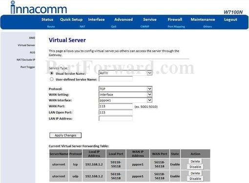 how to find port number of websphere application server