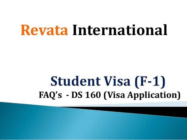ds 160 visa application status
