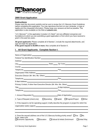 trillium foundation grant application form