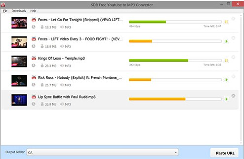 youtube to mp3 application pc