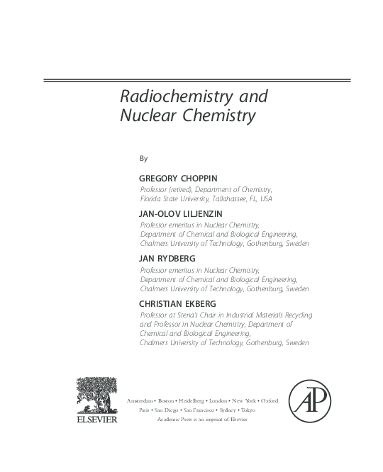 applications of nuclear chemistry pdf