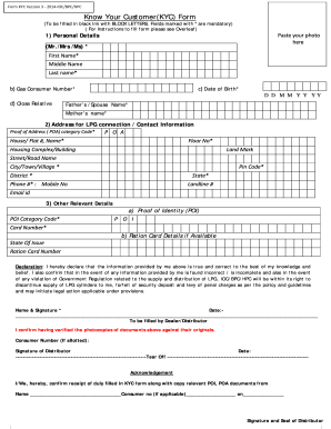 know your client kyc application form