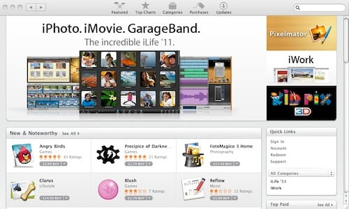 telecharger application mac app store gratuitement