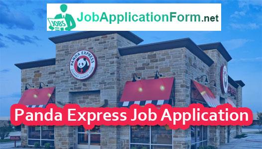 panda express job application pdf