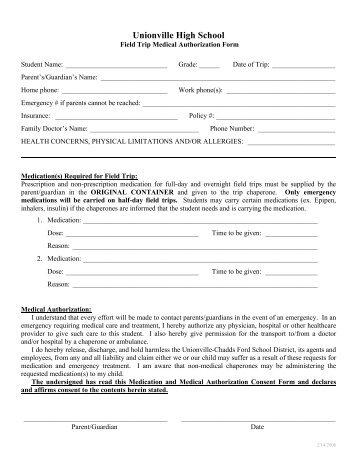 unionville high school application form