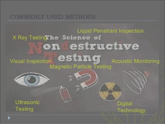 application of magnetic particle testing