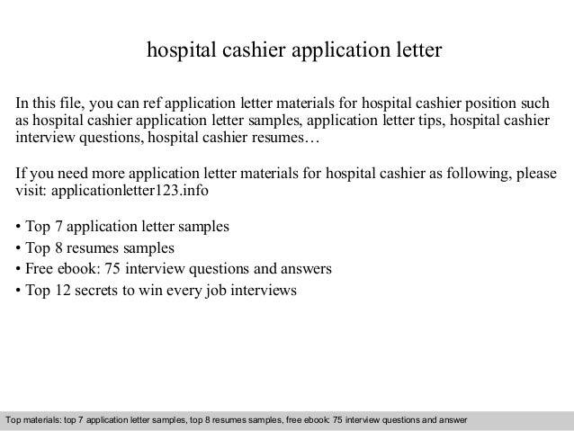 application letter for internship in hospital