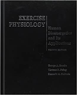 exercise physiology human bioenergetics and its applications pdf