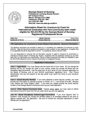 michigan board of nursing application status