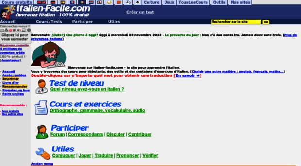 application pour apprendre l italien gratuit