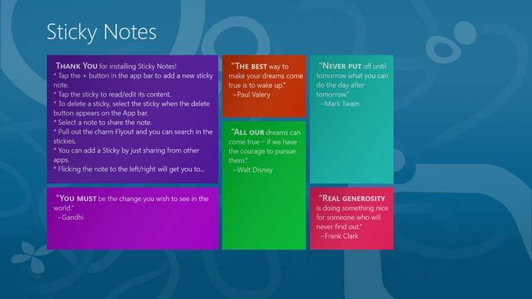notes application for windows 10