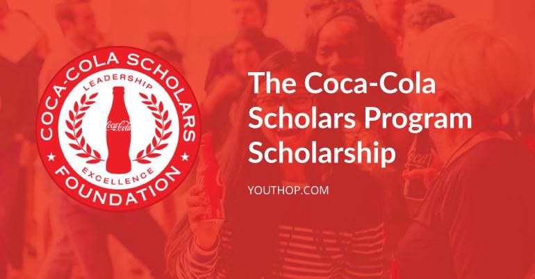 coca cola scholarship 2016 application