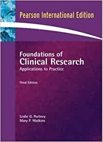foundations of clinical research applications to practice 4th edition
