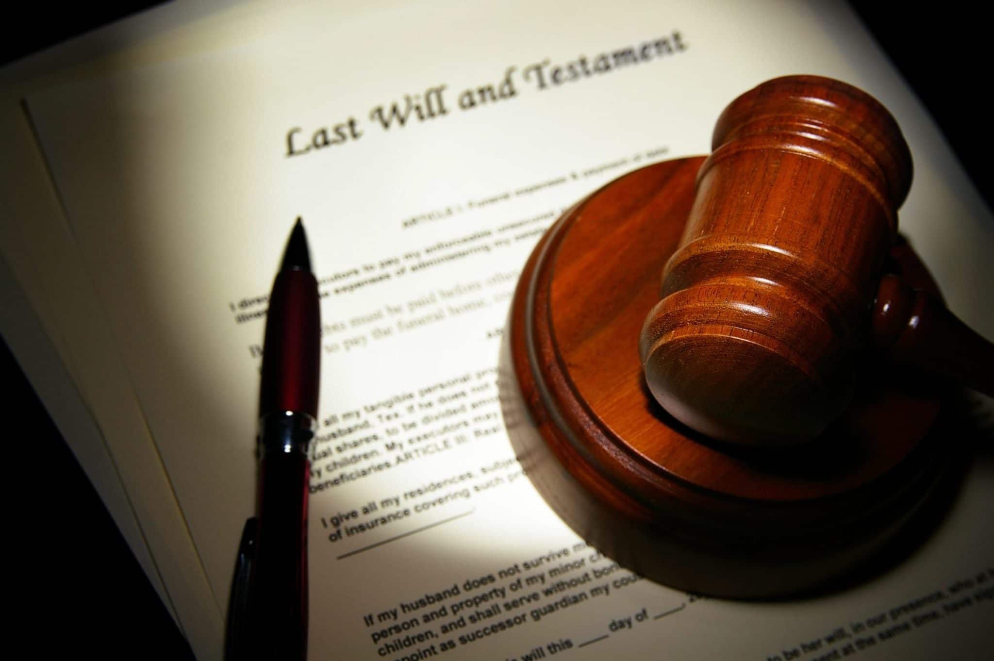 application for estate trustee with a will