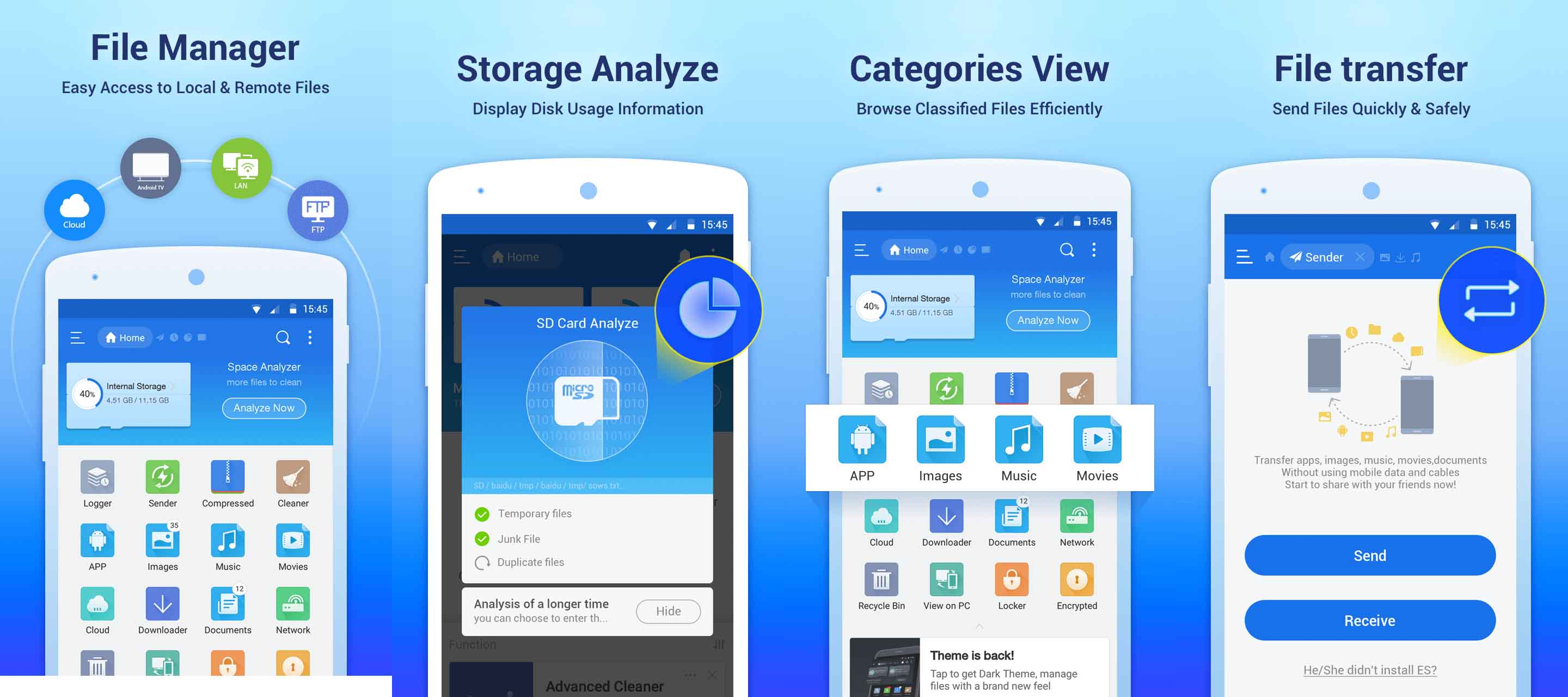 where is application manager in android