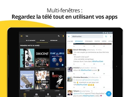application television gratuite pour tablette