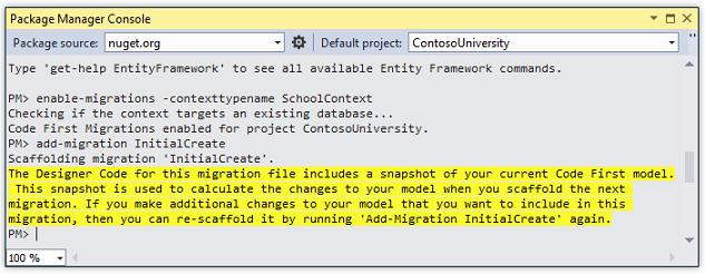 asp net mvc application using entity framework code first