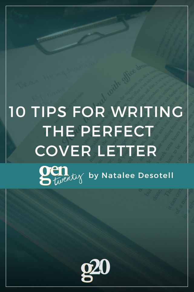 what makes a good cover letter for a job application