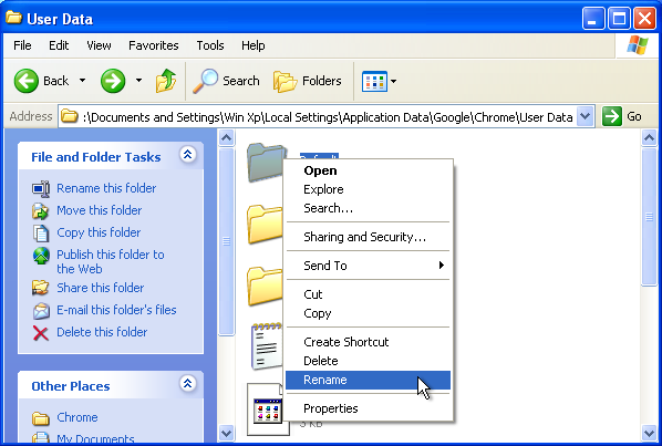 application data folder windows 7