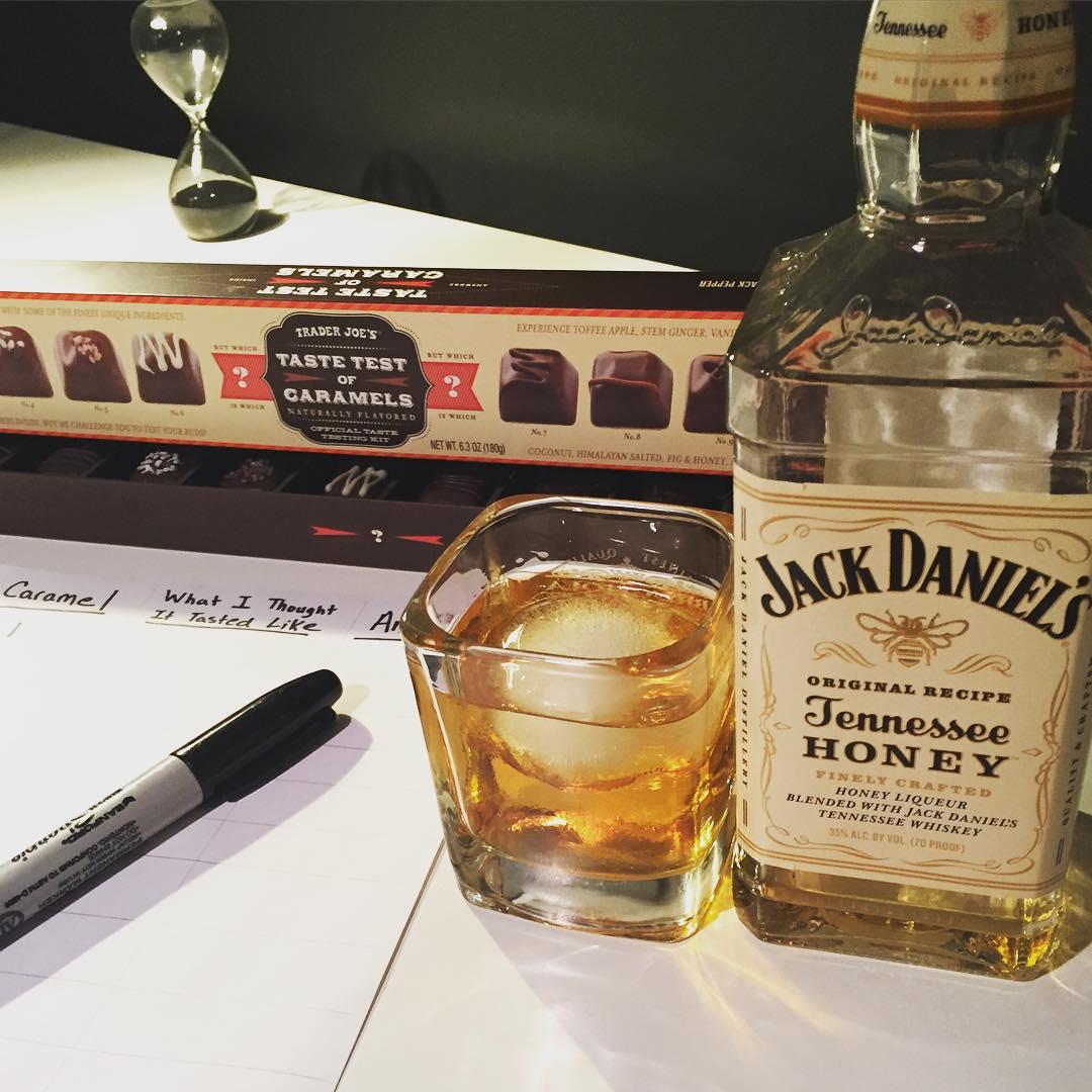 jack daniels taste tester application