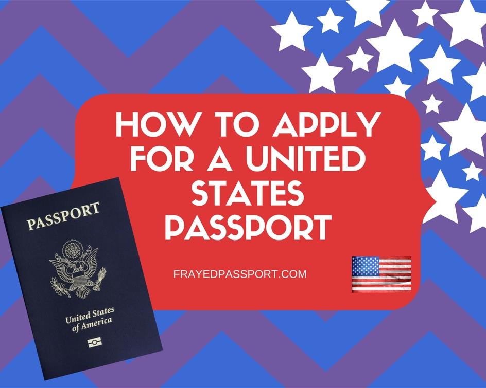 info needed for passport application