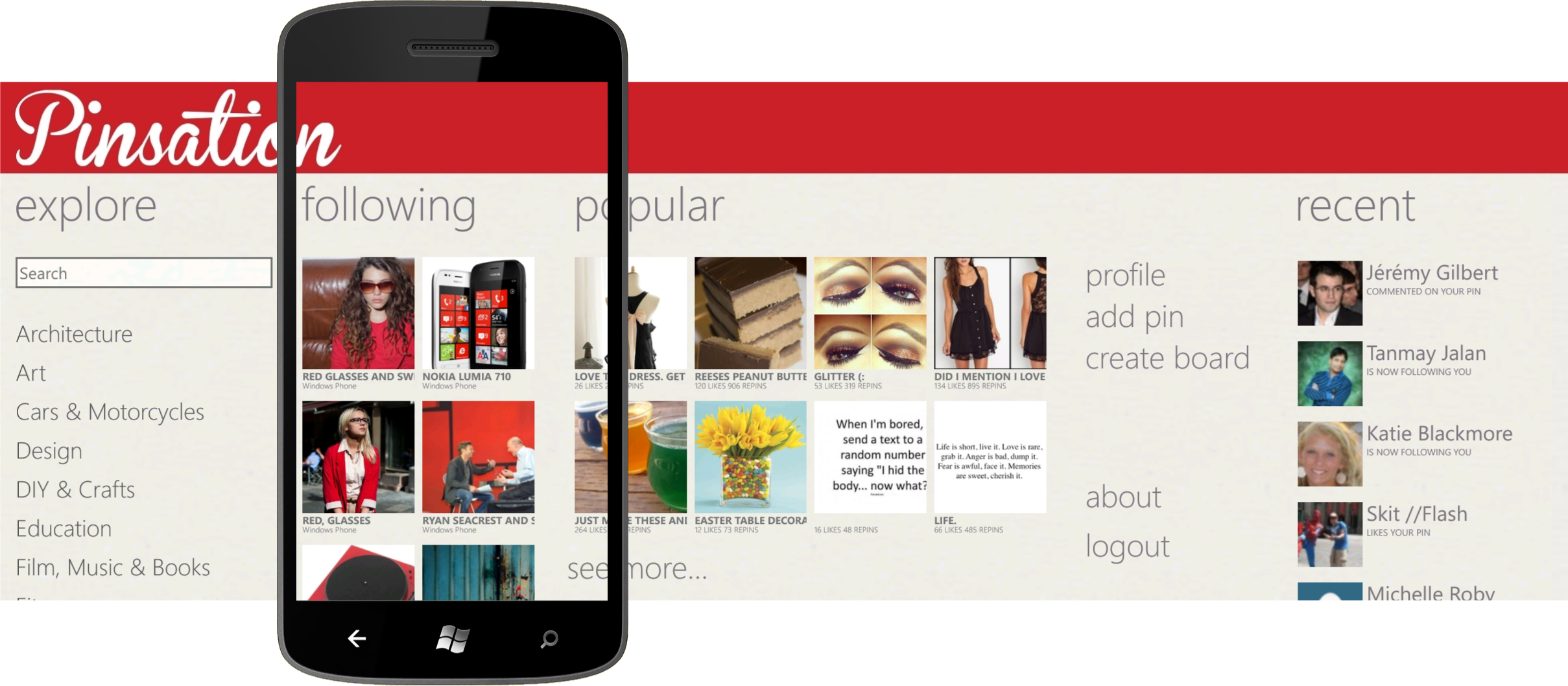 application gratuit pour windows phone