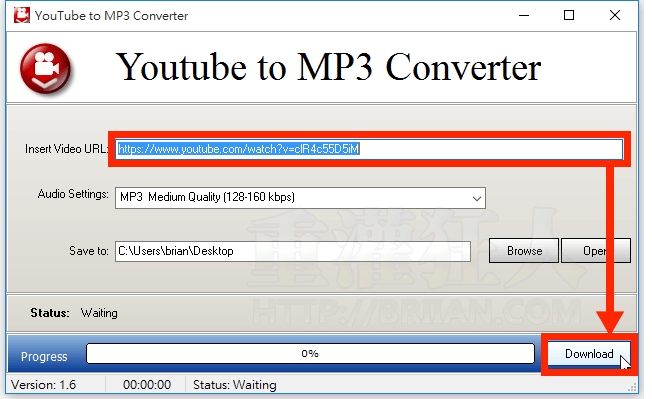 application android youtube to mp3