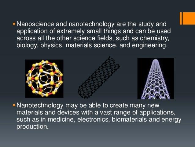 application of nanotechnology in biology