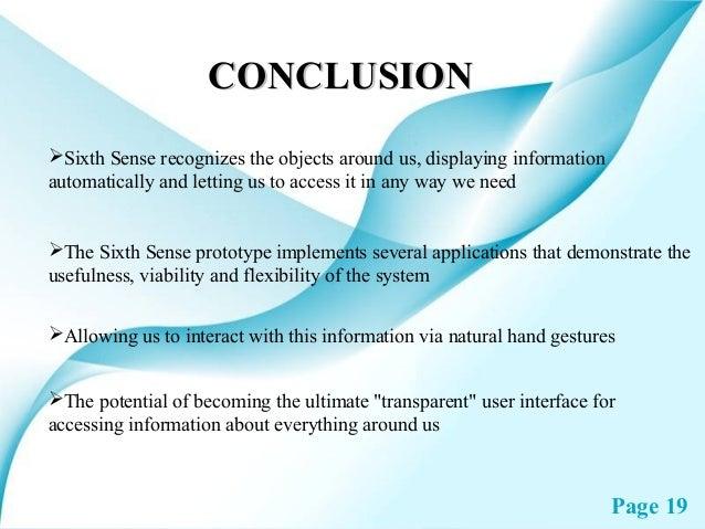 applications of sixth sense technology