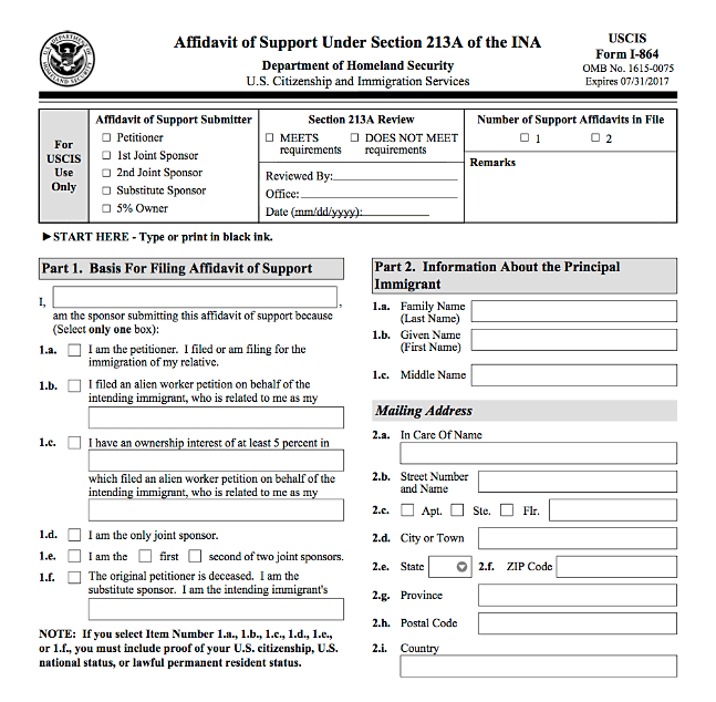 citizenship and immigration canada sponsorship application forms