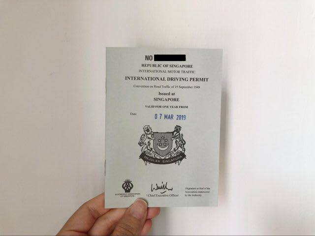 caa international drivers licence application