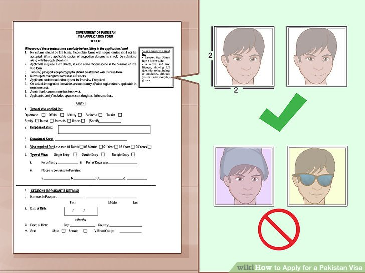 pakistan visa application form for indian nationals