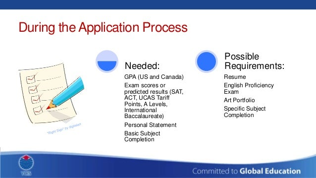 how to make a university application