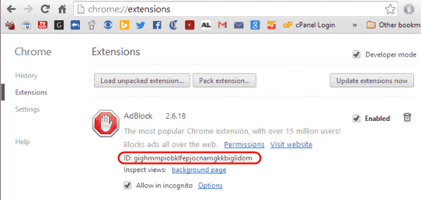 library application support google chrome
