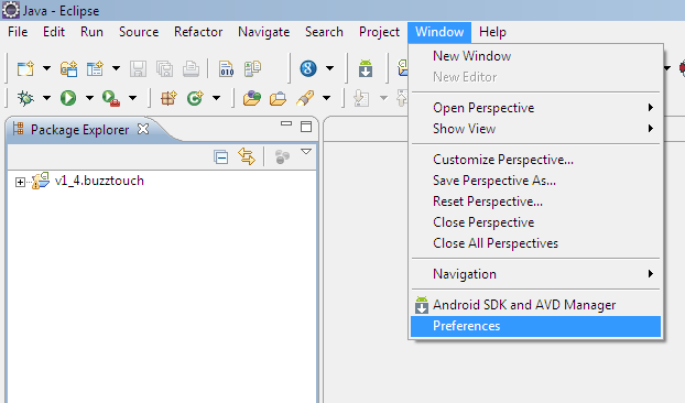 eclipse for developing android application