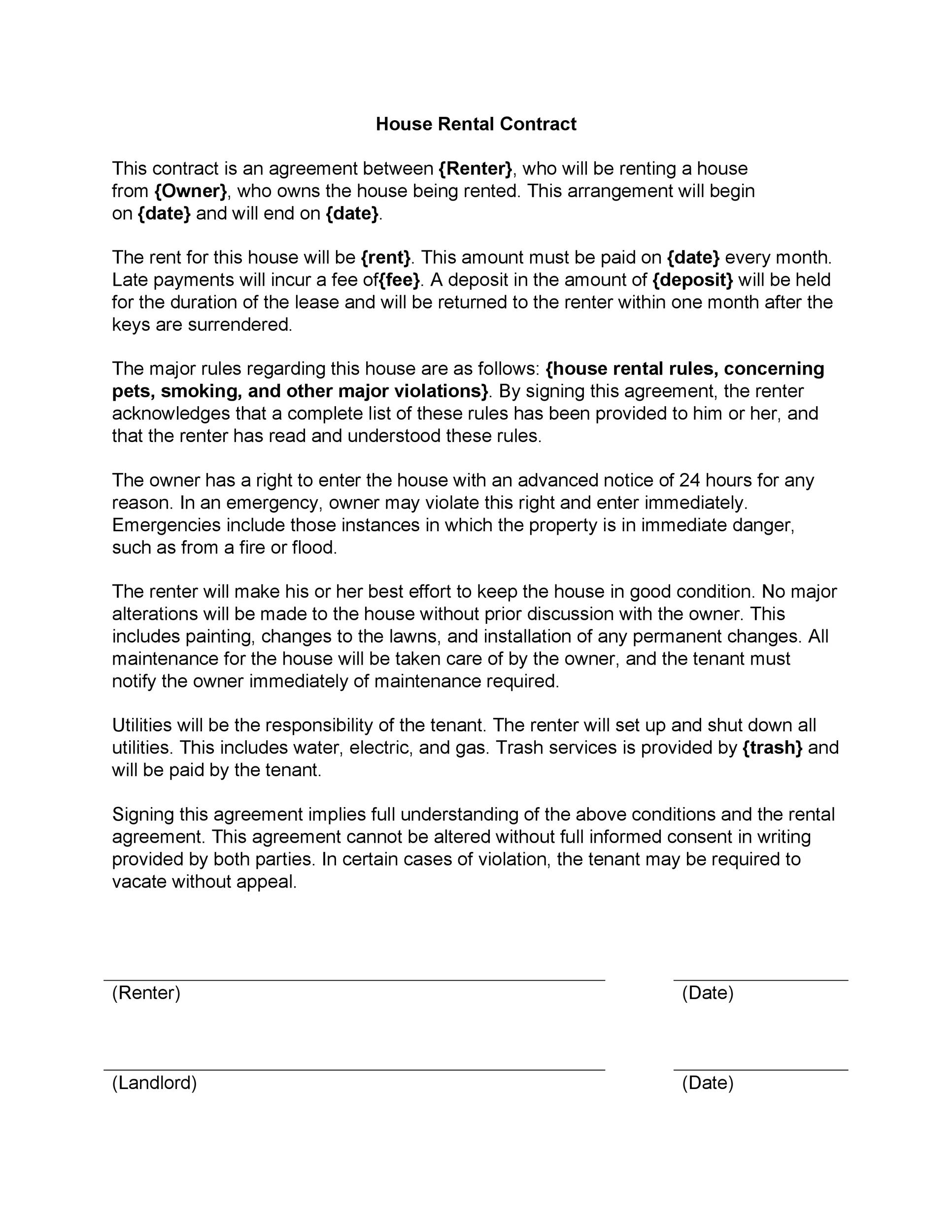 application form for tenancy agreement
