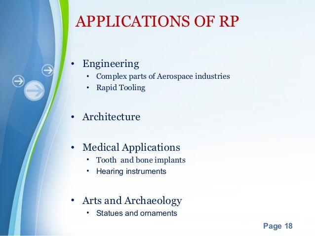 application of rapid prototyping in industry