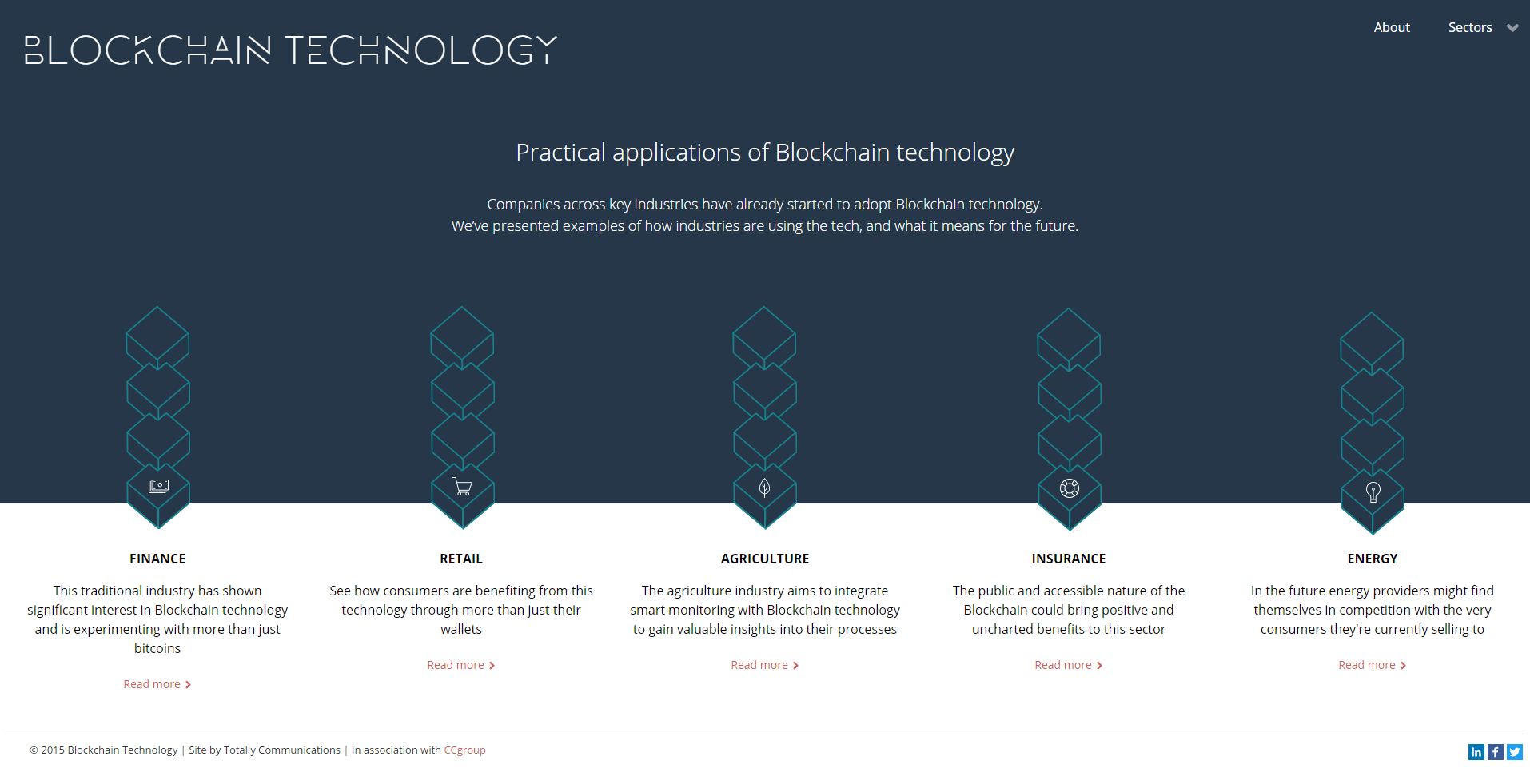 how to create blockchain applications