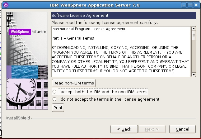 how to uninstall websphere application server 8.5 in linux