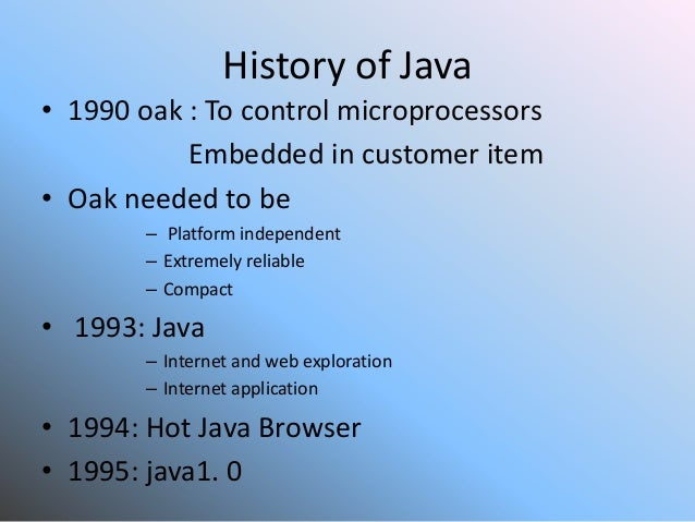 java tools used in application development