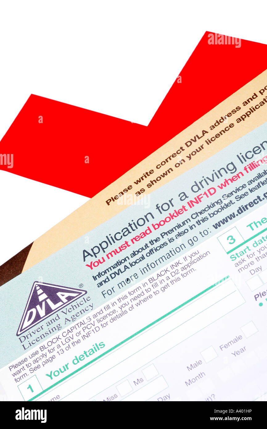 learner driving licence application form