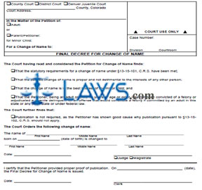 legal change of name application form alberta