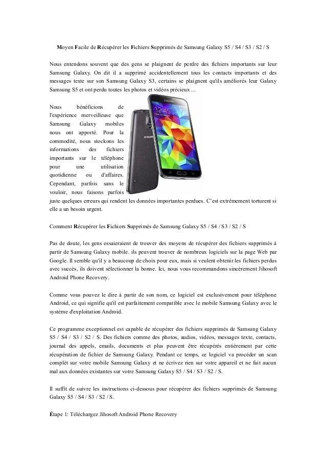 les application de samsung galaxy s3