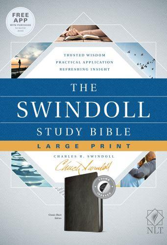 life application study bible nlt large print