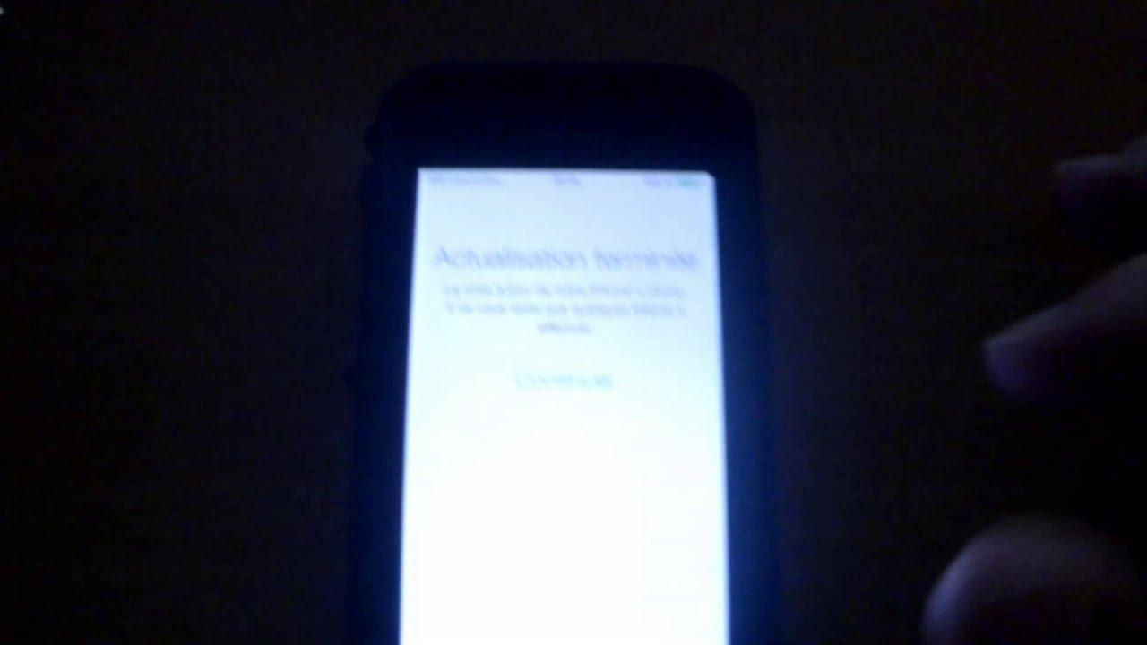 mise a jour application iphone depuis itunes