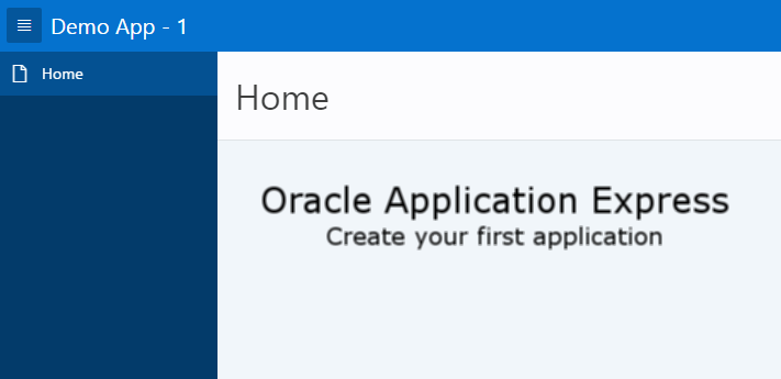 oracle application express tutorial pdf