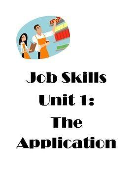 special skills for job application