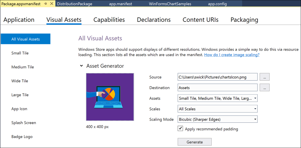 visual studio 2017 no windows form application